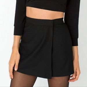 5/$25 BUNDLE! American Apparel Black Wrap Skirt